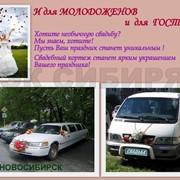 Услуги автомобилей для свадебного кортежа фото