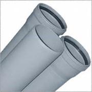 Труба ПП для внутренней безнапорной канализации ф40 фото