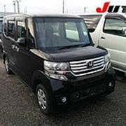 Микровэн HONDA N BOX кузов JF2 класса минивэн модификация Custom G 2012 4WD пробег 128 т.км Кристально Черный фото
