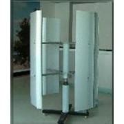 Ветрогенератор бесшумный, вертикальный, инерционный: мощностью 500 Вт. фото