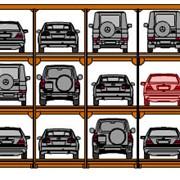Паркинг ротационный фото