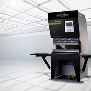 Электромеханический листогибочный пресс фото