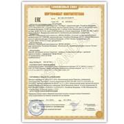 Сертификат/Декларация Соответствия ТР ТС фото