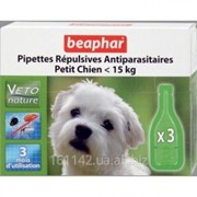 Био Капли СПОТ ОН для собак до 15 кг 3 шт Beaphar фото