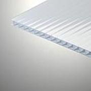 Сотовый поликарбонат 6 мм молочный Novattro 2,1x12 м (25,2 кв,м), лист фото