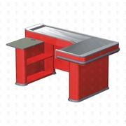 Кассовый бокс без транспортера Энергия EL AKOS 40/60 BT (180 BT) красный левый RAL 3000 фото