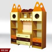 Детская стенка, детский шкаф, мебель детская игровая, мебель в детскую комнату, в детский сад от производителя фото