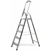 Лестница-стремянка алюмини евая, 5 ступеней, 103 см Код:38801-5 фото
