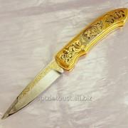 Нож складной Кабан фото
