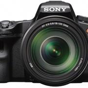 Фотоаппарат Sony SLT-A37 Kit 18-135 (SLTA37M) фото