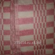 Одеяло полушерстяное 100х140 п/ш 500г/м2, клетка фото
