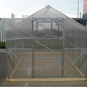 Теплица Урожай Классик, длина 10000 мм, поликарбонат 4 мм, 10 лет заводской гарантии фото