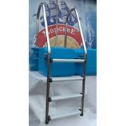 Лестница нержавеющая сталь фото