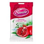 Влажные салфетки Smile Гранат и Белый чай (20 шт.) фото