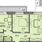 Двухкомнатная квартира бизнес-класса фото