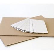 Вкладыши, прокладки из гофрокартона, микрогофрокартона, профиль Е. Гигиенический сертификат фото
