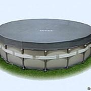 Аксессуары для бассейнов чехол для каркасного бассейна 57900 фото