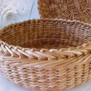 Плетеные корзины, подносы, конфетницы фотография