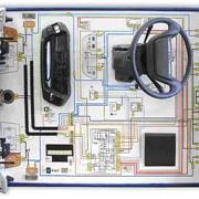 Стенд-тренажер «Система освещения и сигнализации автомобиля» фото