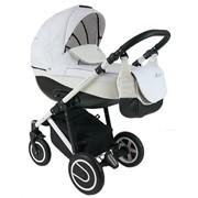 Многофункциональная детская коляска BEXA LINE L202C белая рама фото