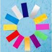 Конфетти прямоугольное (2 x 5 см), разноцветное фото
