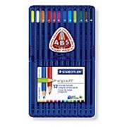 Набор цветных карандашей Staedtler Ergosoft треугольные 12 цветов фото