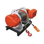 Лебедка электрическая TOR KDJ 1,5 т 100 м 380V фото