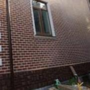 Клинкерная фасадная плитка Aquarius Brown Paradyz Польша фото