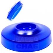Шайба поликарбонатная крепежная с EPDM уплотнителем для поликарбоната толщиной от 4 мм до 55 мм, синяя под кровельный саморез диаметром 5,5 мм фото
