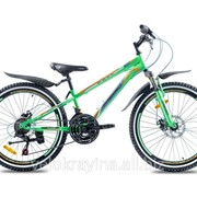 Подростковый горный велосипед Premier Pirate 24 Disc 11 2016 зеленый матовый фото
