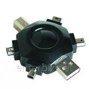 Адаптер 6 универсальных портов USB Gembird (A-USB5TO1), код 50353 фото