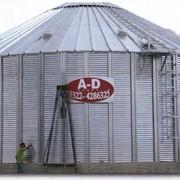 Зернохранилища из вентилируемых силосов фото