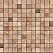 Панель ПВХ Мозайка Микс орех 957х480х0,3мм фото
