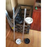 Перекладины трех лучевой для подвески колбасы,тележки для евро ящиков, фото