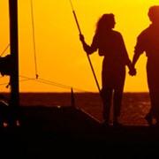Романтическое свидание и прогулка на яхте фото