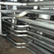 Монтаж технологических трубопроводов пищевой промышленности, трубопроводов холодильного и котельного оборудования, наружных трубопроводов и магистралей на высоте и под землей. фото