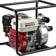 Мотопомпа высоконапорная Honda WH20 (500 л/мин, 50 м) фото