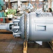Аппараты с механическим перемешивающим устройством, Реакторы стальные нержавеющие. фото