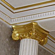 Сусальное золото потолок фото