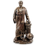 "Скульптура ""Пифагор""/ Великие люди 13,5х26,5х9,5см. арт.WS-923 Veronese фото"