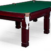 Бильярдный стол для русского бильярда (пирамида) Texas 9ф (махагон) фото