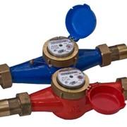 Счетчик воды многоструйный (для учета холодной и горячей воды) — ОХТА М 32 У фото