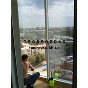 Тонировка окон квартиры зеркальной пленкой фото