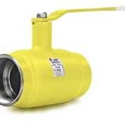 Кран стальной шаровой LD Ду 150 Ру 16 для газа фланец, с рукояткой фото
