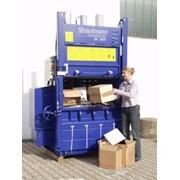Вертикальный пресс ЕК1109, усилие 32/40 тонн для макулатуры, пленки, ПЭТ бутылок, банок и других отходов. фото