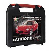 Аптечка первой помощи автомобильная АППОЛО-АВТО (пластиковый чемоданчик) фото