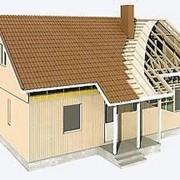 Каркасно - щитовой дом фото