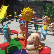 Карусель (4 места) Ауыл жануарлары Артикул А3D006 фото