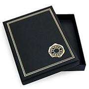 Коробочка подарочная. Цвет черный фото