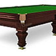 Бильярдный стол для русского бильярда Hardy 10ф (черный орех) фото